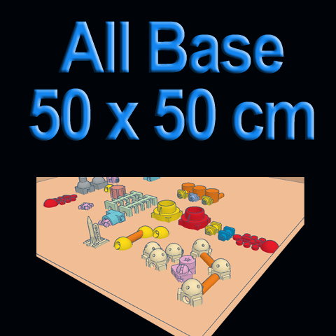 Masaüstü Mini Mars (Desktop Mars Base)