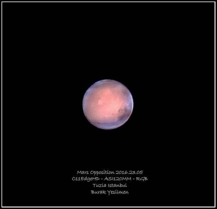 Mars fotoğrafı