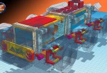 Photo of Mars Rover Model Prototipi-1