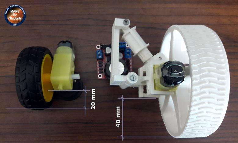 model-mars-rover-motor-yer-mesafesi