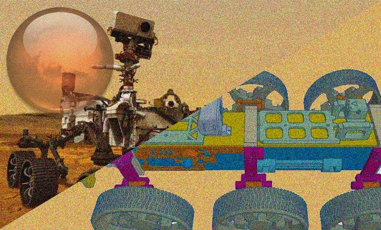 Curiosity Rover ve Model Rover Karşılaştırma