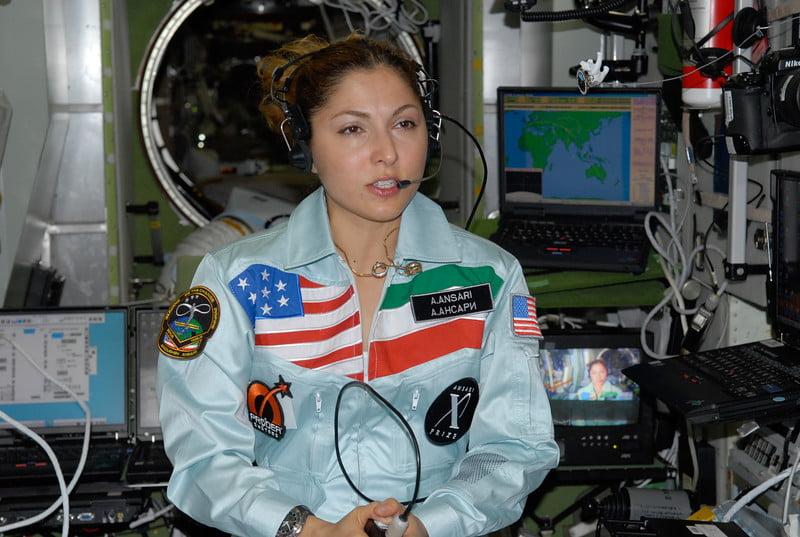 İranlı ilk Müslüman kadın astronot