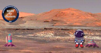 """""""Çocuk Gözüyle Mars'ta Yaşam"""" Temalı Resim Etkinliği"""