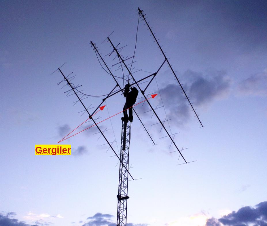 Resim-2. Yüksek Kazançlı Stack Antenler ve Kule Görünümü.