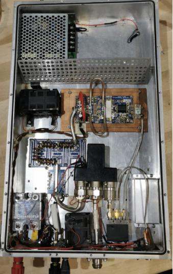 Resim-2. VHF 1KW Güç Amplifikatörü (TA7W)