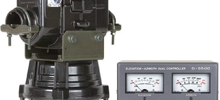 Şekil 7 Anten Kontrol - Yaesu G-5500 Rotor Kontrol Birimi.