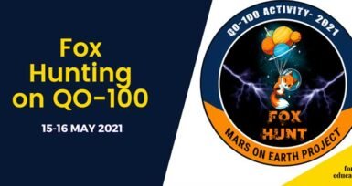 Fox Hunting on QO-100 Satellite