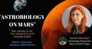 """Mars'ta Yaşam ve Astrobiyoloji"" Semineri"