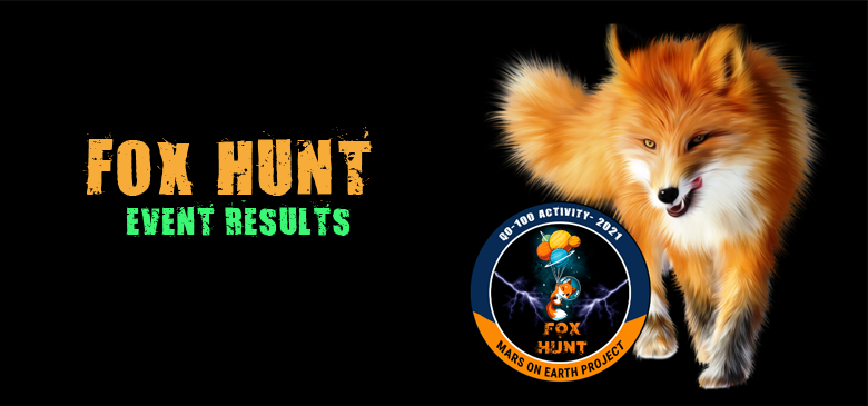 Fox Hunt Event Results
